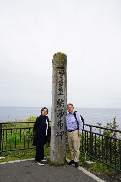 トラピックス 釧路で過ごす10日間(7)荒天の中を根室半島を目指すが根室車石と納沙布岬では好転し、トロサンマの漬け丼と花咲カニ汁に舌鼓み。