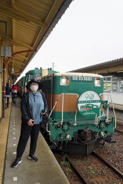 トラピックス 釧路で過ごす10日間(11)ノロッコ号に乗って駅弁を楽しみながら塘路へ行き、塘路湖からカヌーをスタートさせる。