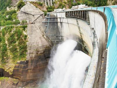 黒部ダムと、界 松本に行きたくて。