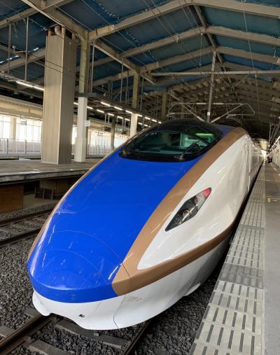24時間1泊2日で新潟に35年ぶりの新幹線で行ってきました。
