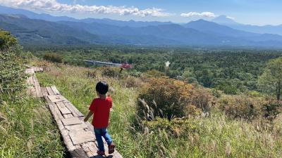 清里・八ヶ岳エリアを子連れ(6歳児)1泊2日 ~定番スポット少なめの行程&おまけの葡萄狩りも~