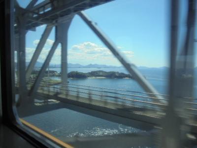28年ぶりに訪れる香川県-2  快速マリンライナ- 高松→岡山 乗車