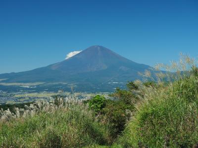 中秋の名『 富士 』 矢倉岳日帰り登山