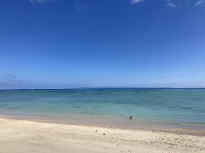 6・8歳児連れ、連休で沖縄北部の離島はしごの旅:伊平屋&古宇利島編