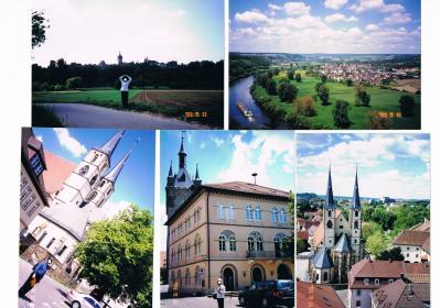 ドイツ2012年・麗しの5月:ネッカー川沿いを走る古城街道には最も好きな景観がある。