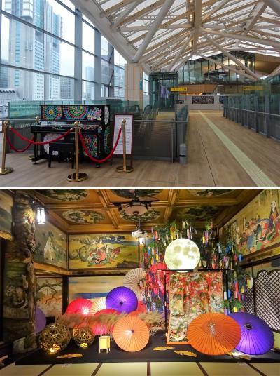 東京単独旅行2日目は、百段階段と隈研吾デー。