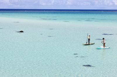3度目でやっとの思いを乗せた翼で ~17ENDビーチのエメラルドグリーンの光る海へ