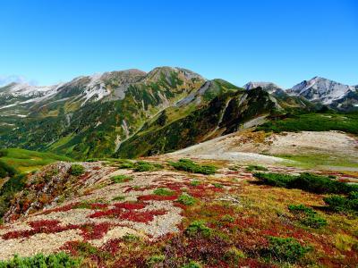 北アルプス♪白馬岳・清水岳・雪倉岳・朝日岳・栂海新道(蓮華温泉~親不知)