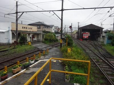 今回はさらに進んで静岡県東部へ【その3】 雨の中、岳南電車と周辺を巡る。