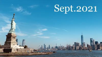 ニューヨーク初観光②/2021年9月10日