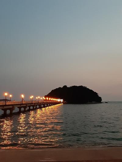 絶景の蒲郡、竹島