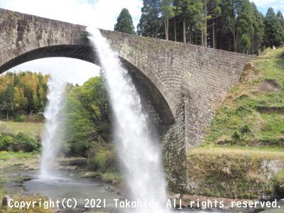 2021年春の青春18きっぷで行く熊本・大分:通潤橋