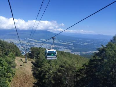 増冨温泉泊 入笠山ハイキング