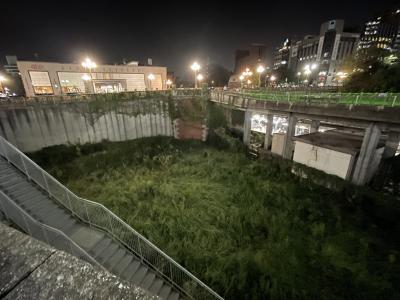 江戸城外堀跡(真田濠地区)