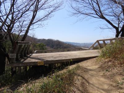 大阪 交野山 みはらしの道(Miharashi Path, Kono-zan Mountain, Osaka, JP)