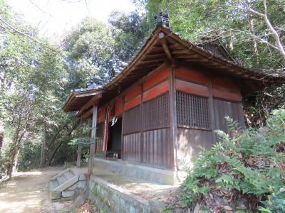 大阪 交野山 糸吉神社(Itoyoshi-jinja Shrine, Kono-zan Mountain, Osaka, JP)