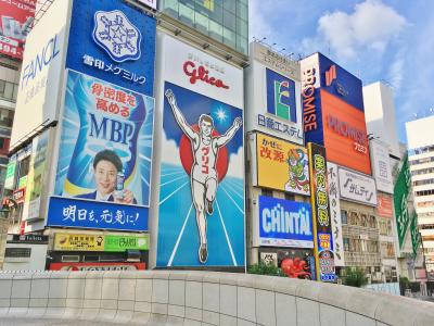 大阪ミナミで束の間のランチ&街歩き♪