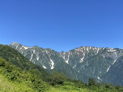 白馬五竜とおみ 山の絶景と高山植物