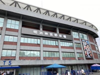 久しぶりに「東京六大学野球」秋のリーグ戦を観戦。