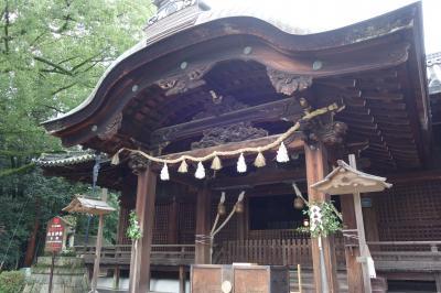 20210926-1  向日 向日神社にお参りに行くらしい…
