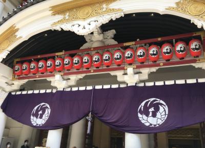 久しぶりの東京・歌舞伎座