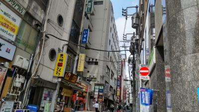 上野街歩き食べ歩き