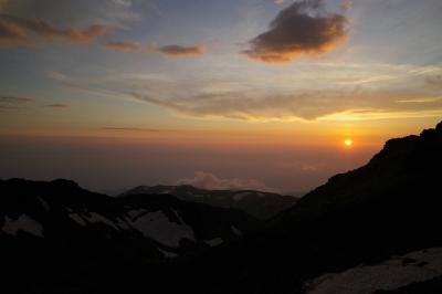 鳥海山 山頂山小屋泊登山(鉾立ルート)