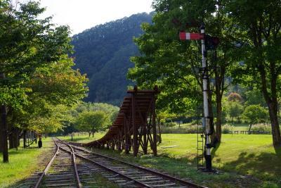 富内銀河ステーション(旧国鉄富内線・富内駅)・振内鉄道記念館