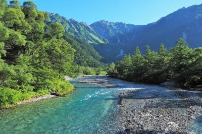 緑と山からパワーチャージ 夏の上高地ハイキング (1) 河童橋~明神池・徳沢ルート