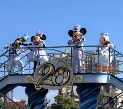 東京ディズニーシー20周年「タイム・トゥ・シャイン!」水上ショー&メニュー&グッズ「ディズニー・ハロウィーン」ソアリン★インディ★センター♪