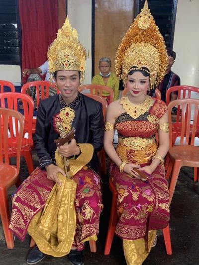 バリ島の結婚式