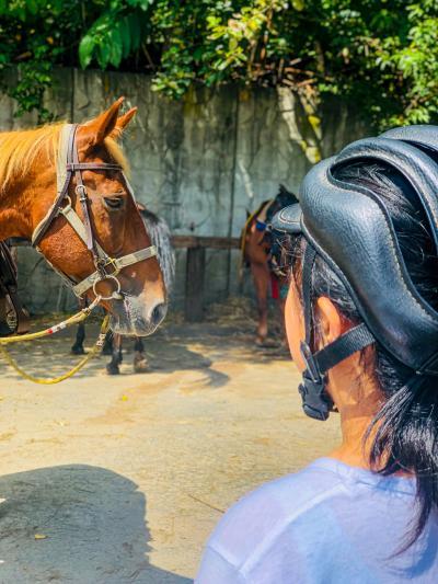 コロナに注意しながらの家族旅行第二弾 その6 2度目の乗馬へ