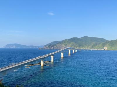 甑島は絶景の宝庫だった ( 1. 瀬尾観音三滝、甑大橋、鹿島断崖、甑大明神橋からサンセット )
