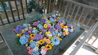 美しさにふれる花手水21・豊平