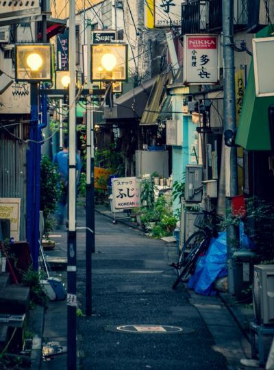 東京大森 : 谷底のようなところに昭和風情な店が並ぶ山王小路飲食店街
