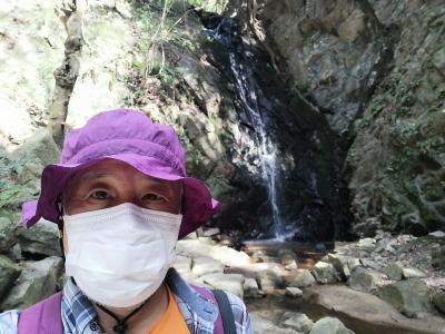 大阪 交野山 源氏の滝(Genji Fall, Kono-zan Mountain, Osaka, JP)