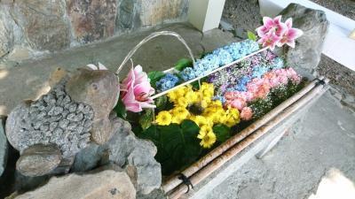 今年も美しい花手水21・手稲。
