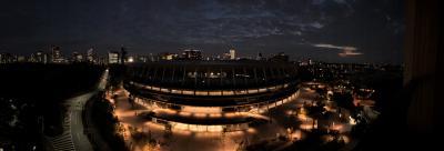 三井ガーデンホテル神宮外苑の杜プレミア /  中秋の名月をコーナールームから堪能☆