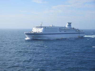 太平洋フェリー「いしかり」スイートルーム乗船(その1)