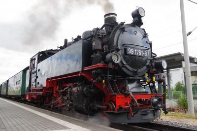 北ドイツの小さな街めぐり(10) レスニッツグルント鉄道のSL