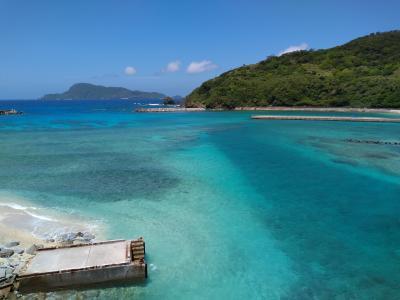 離島巡り(伊平屋島&阿嘉島)10日間の旅~8日目 みんなで釣り&午後はひとりで久しぶりの阿嘉ビーチへ