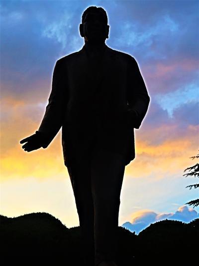 広島10 広島-5 広島護国神社 廣島大本営/歩兵聯隊 史跡探訪 ☆池田勇人元首相の像も