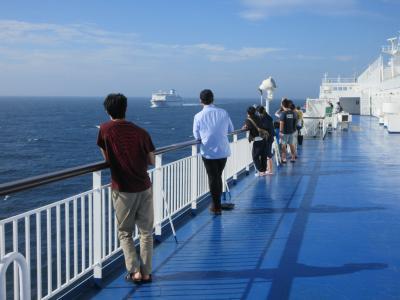 太平洋フェリー「いしかり」スイートルーム乗船(その2)