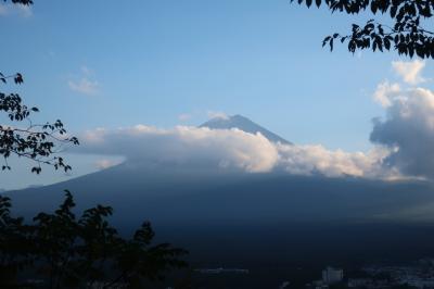 富士山の麓でブラブラ散歩とサイクリング その1 船津胎内樹型、河口湖富士山パノラマロープウェイ