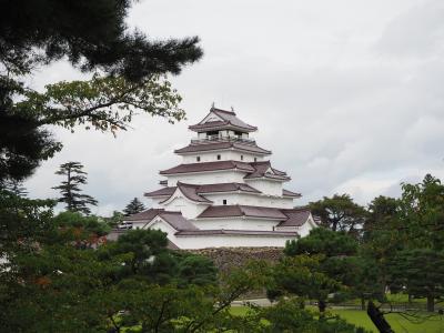 東武フリーパスで行く会津・日光②【さざえ堂・鶴ヶ城・七日町散策のあとは大内宿・塔のへつりまで行ってみよう♪】