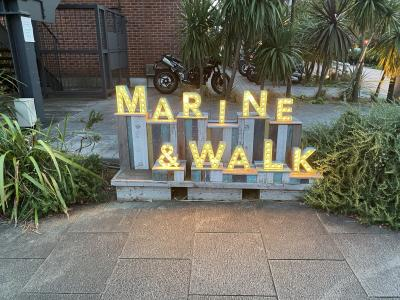 みなとみらい1泊2日の旅行記 ④横浜マリーン&ウォーク