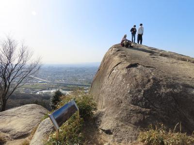 大阪 交野山 観音岩(Kannon-iwa Rock, Konozan Mountain, Osaka, JP)