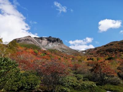 へなちょこだって百名山に登りたい 秋の茶臼岳2021