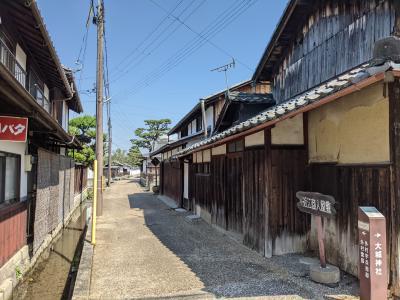 滋賀 / 五箇荘 古い街並みと 素敵な古民家レストラン