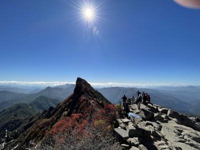 紅葉を見に西日本最高峰の石鎚山を登ってみた(^^♪